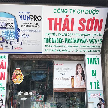 Quầy thuốc Thái Sơn