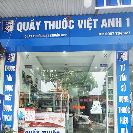 Quầy thuốc Việt Anh 1
