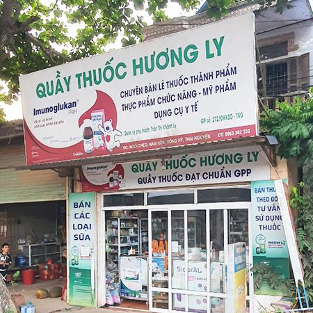 Quầy thuốc Hương Ly