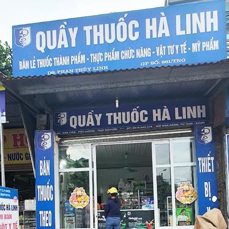 Quầy thuốc Hà Linh