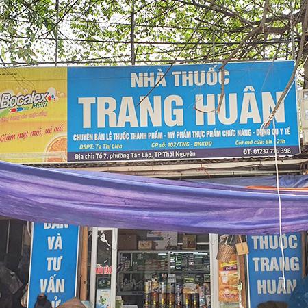 Nhà thuốc Trang Huân