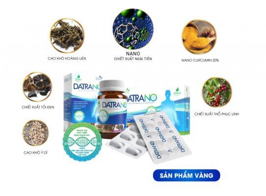 Thành phần gồm 7 dược liệu quý hiếm trong viên uống Datrano