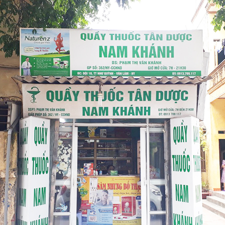 Quầy thuốc Nam Khánh