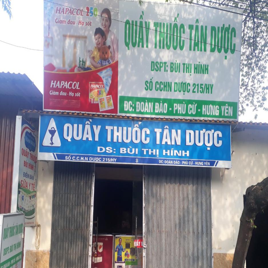 Quầy thuốc Bùi Thị Hính