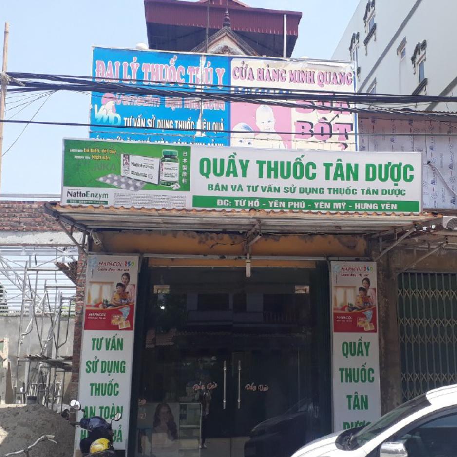 Quầy thuốc Tân dược