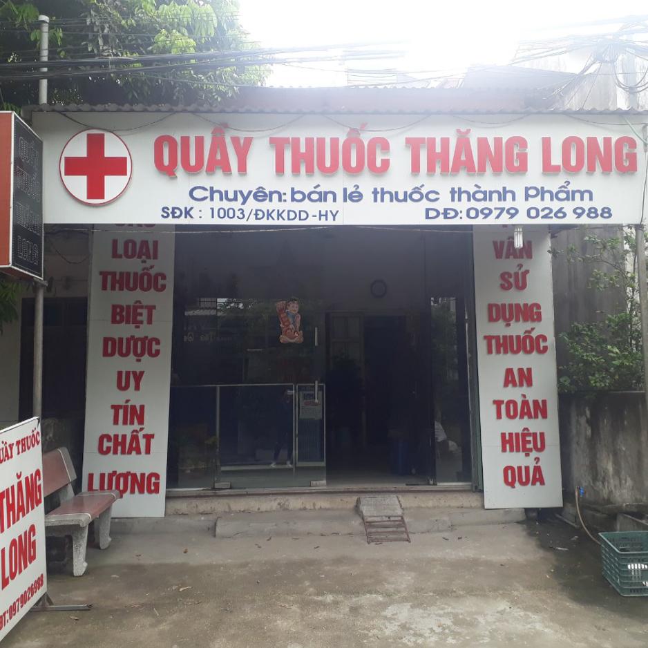 Quầy thuốc Thăng Long