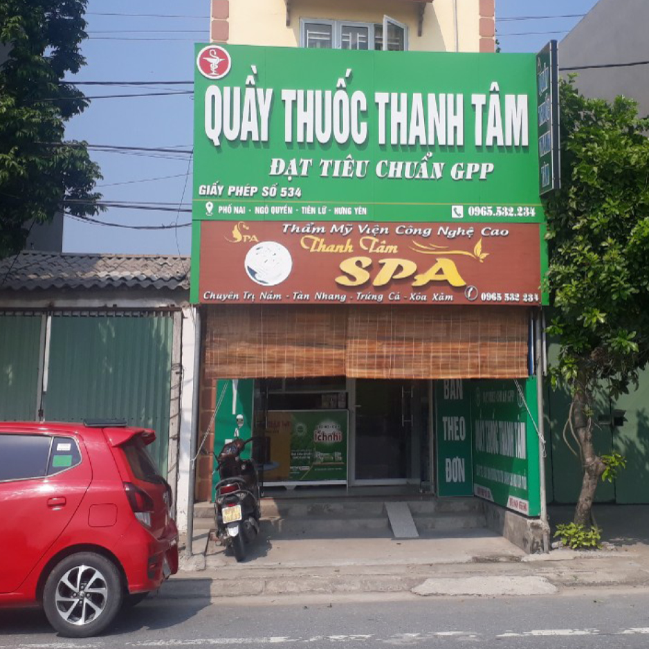 Quầy thuốc Thanh Tâm
