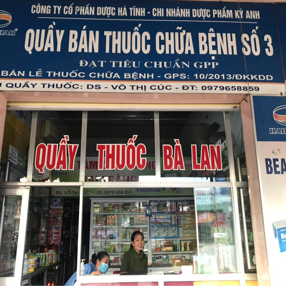 Quầy thuốc Võ Thị Cúc