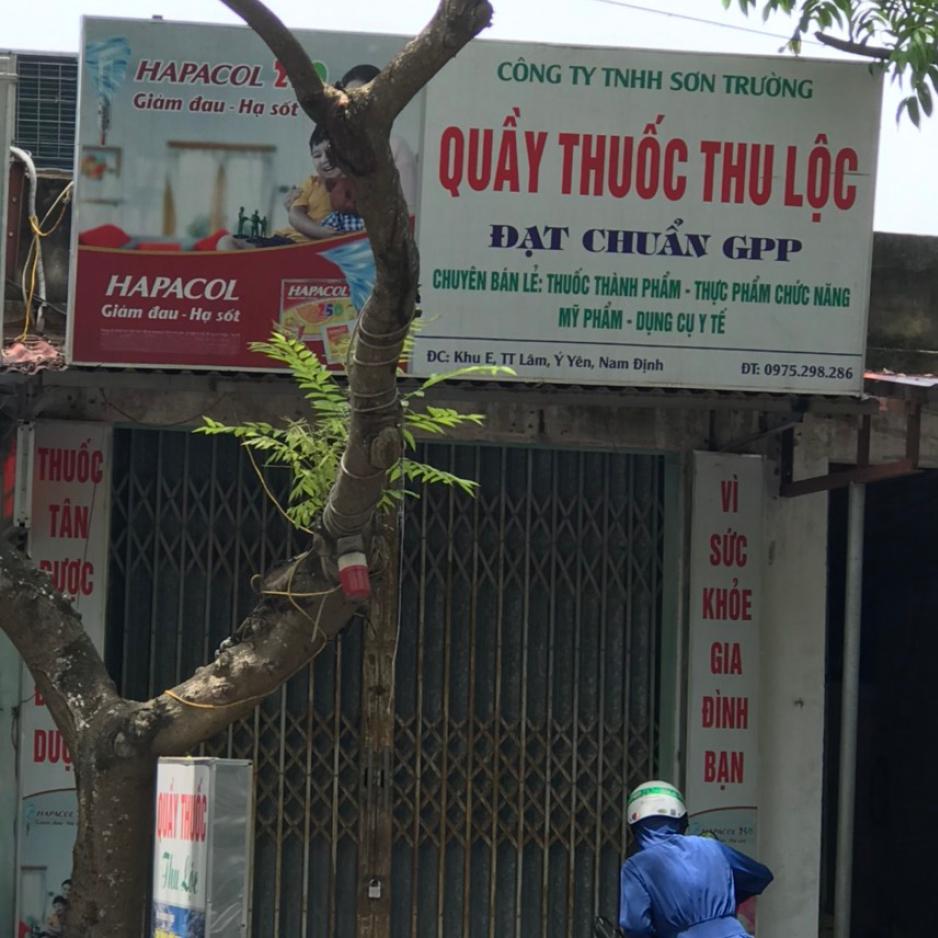 Quầy thuốc Thu Lộc