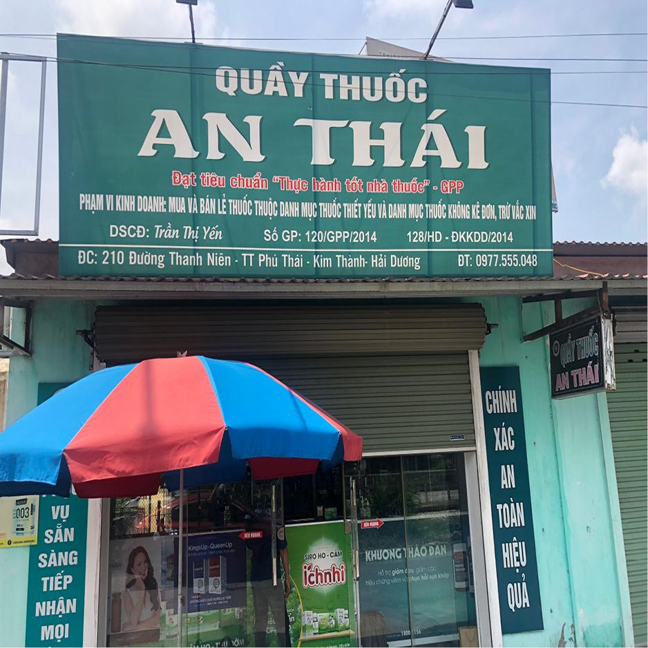 Quầy thuốc An Thái