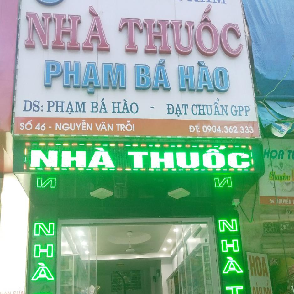 Nhà thuốc Phạm Bá Hào