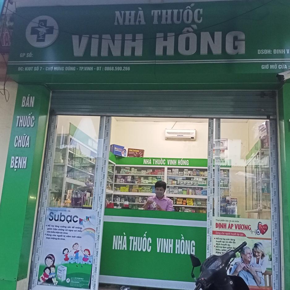 Nhà thuốc Vinh Hồng