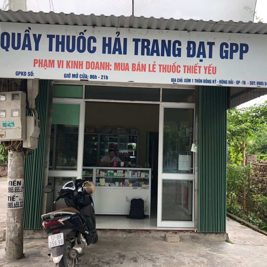 Quầy thuốc Hải Trang