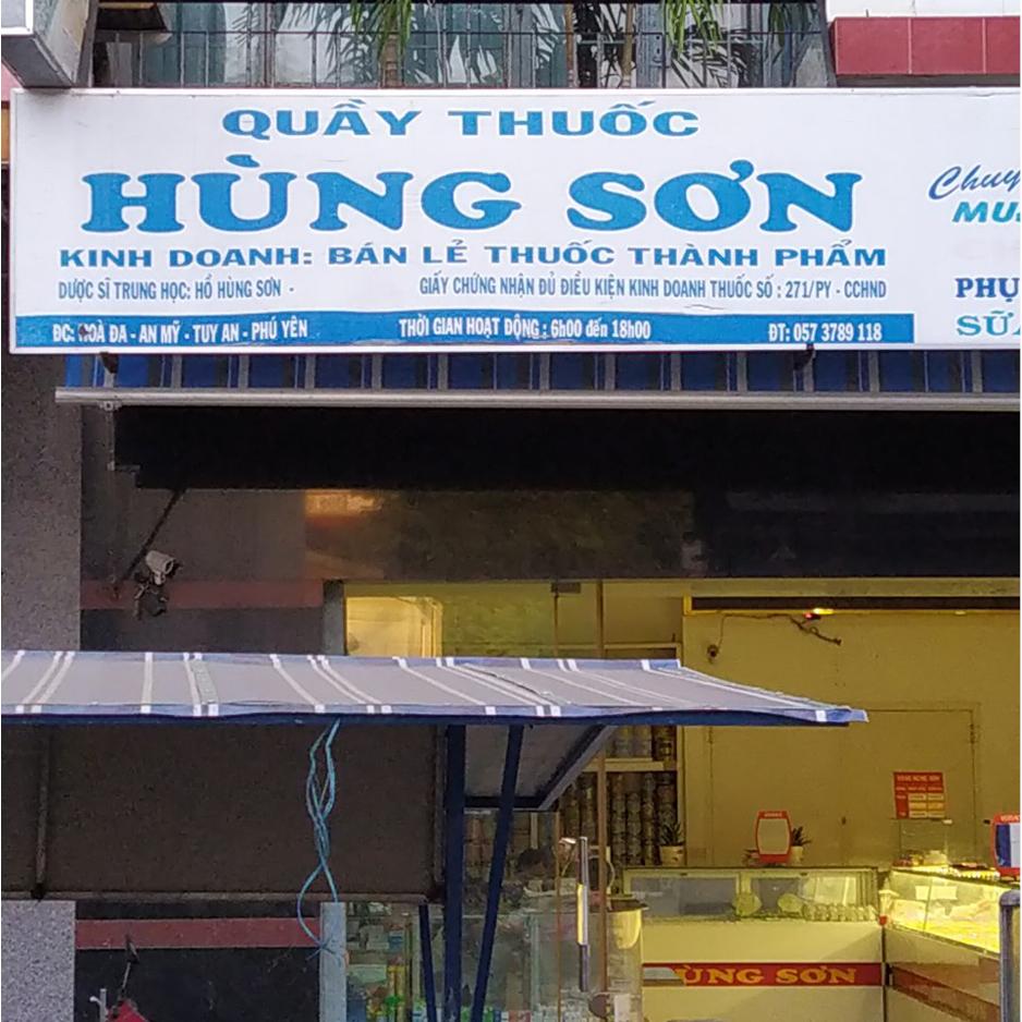 Quầy thuốc Hùng Sơn