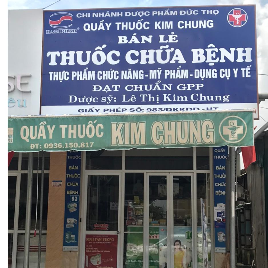 Quầy thuốc Lê Thị Kim Chung