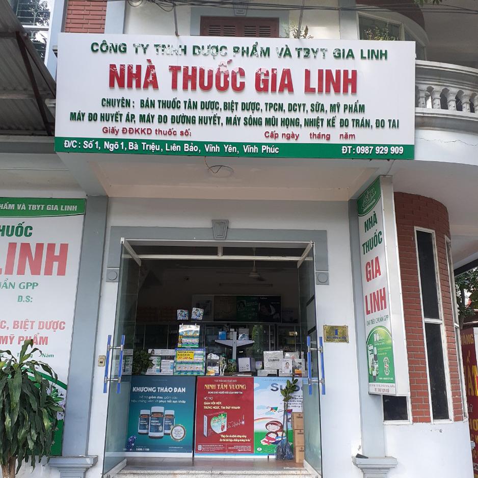 Nhà thuốc Gia Linh