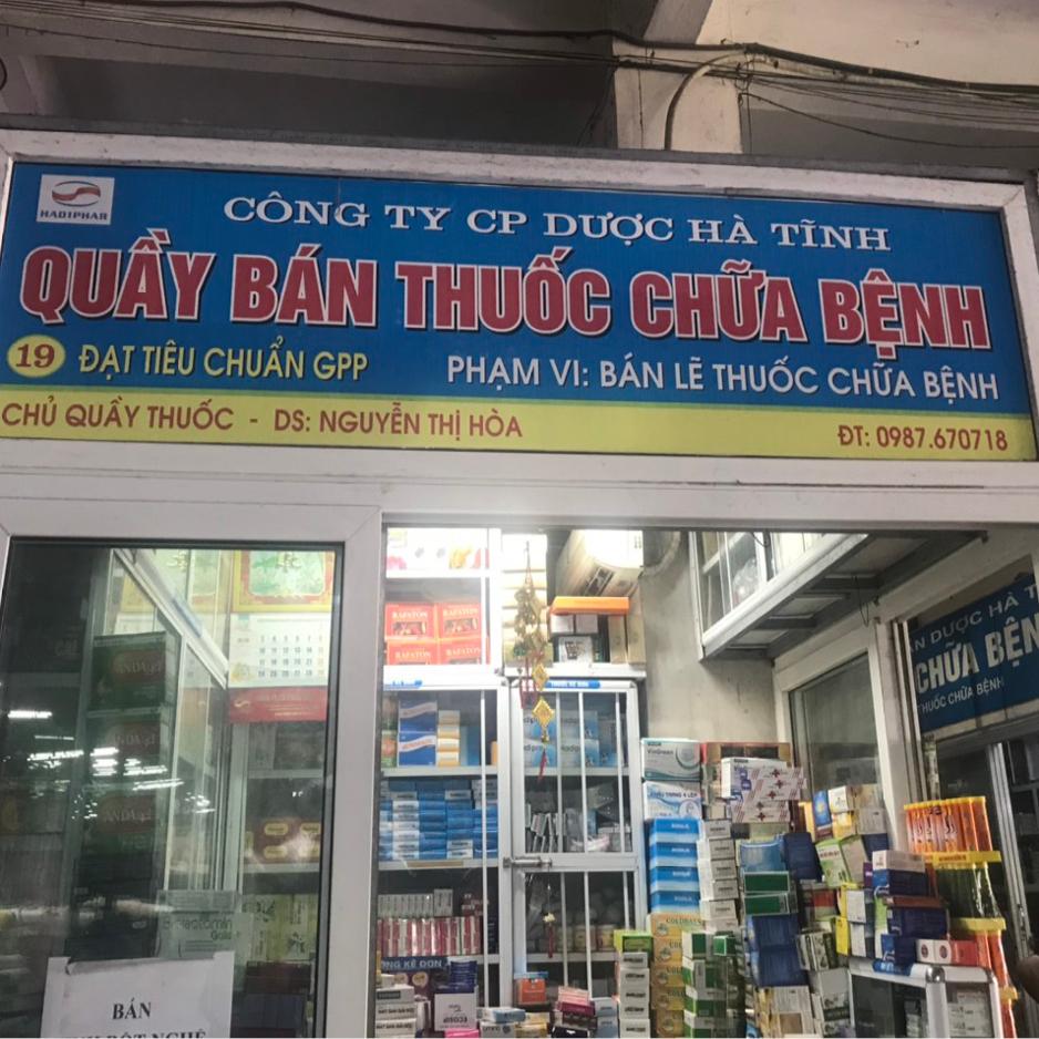 Quầy thuốc Nguyễn Thị Hoà