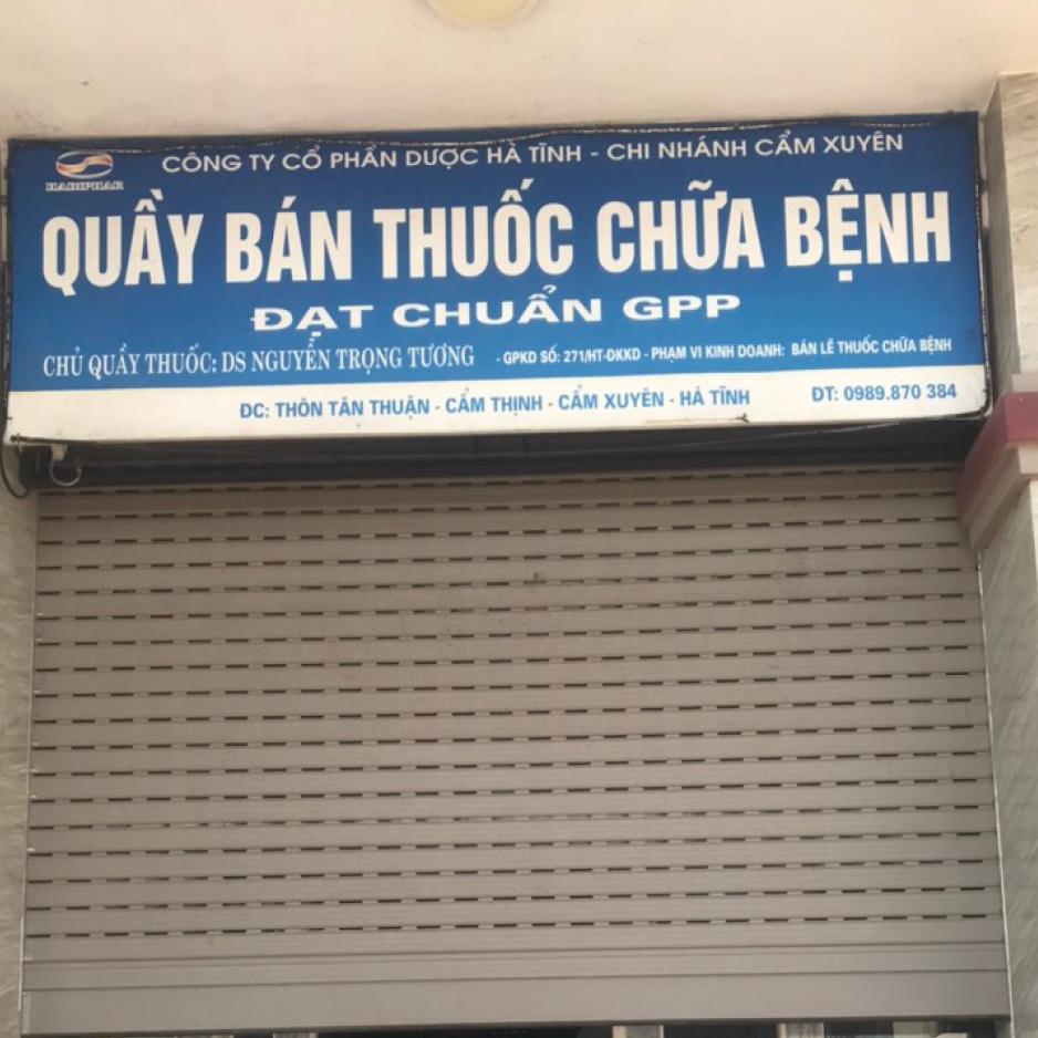Quầy thuốc Nguyễn Trọng Tương