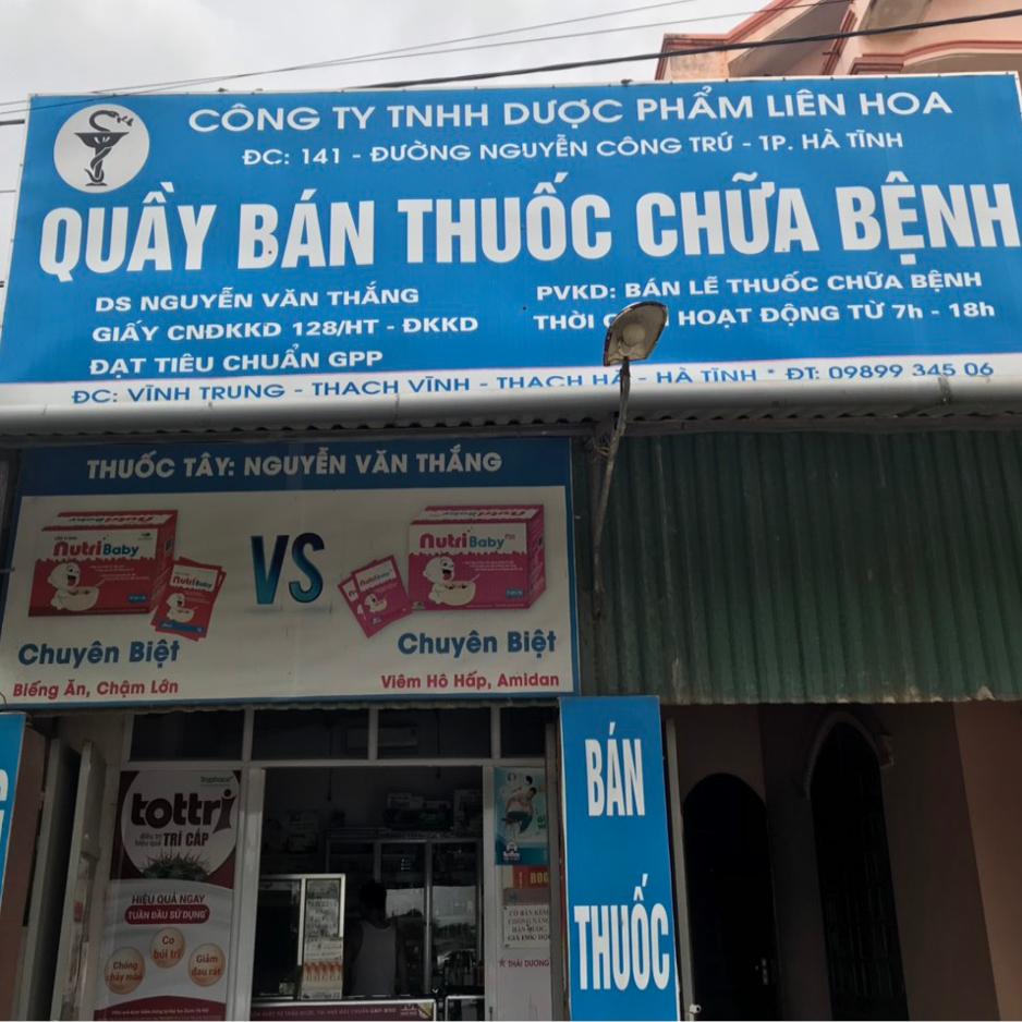 Quầy thuốc Nguyễn Văn Thắng