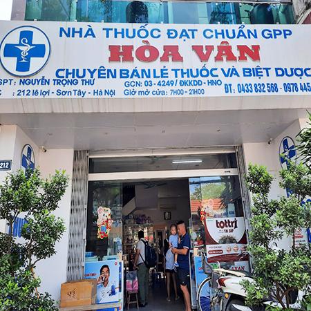 Nhà thuốc Hòa Vân