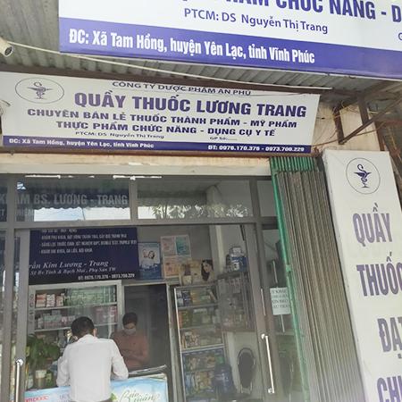 Quầy thuốc Lương Trang