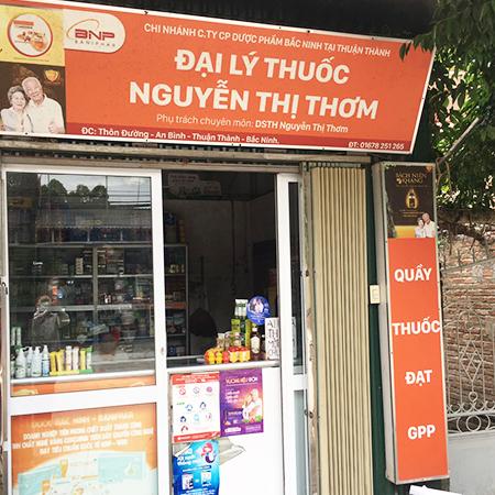 Đại lý thuốc Nguyễn Thị Thơm