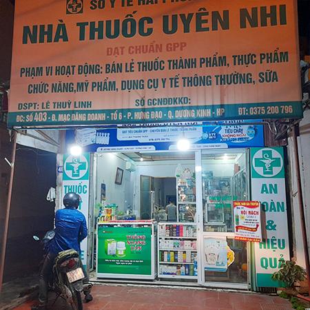 Nhà thuốc Uyên Nhi