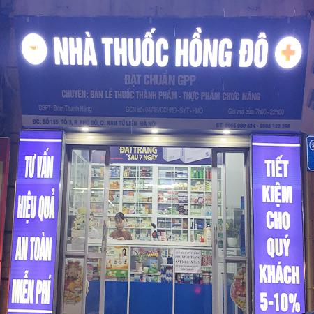 Nhà thuốc Hồng Đô