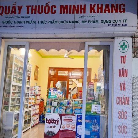Quầy thuốc Minh Khang