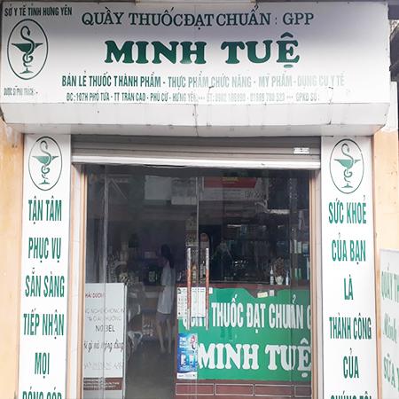Nhà thuốc Minh Tuệ Hưng Yên