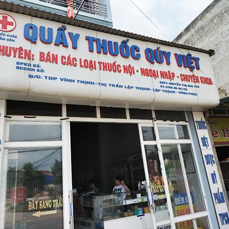 Quầy thuốc Quý Việt