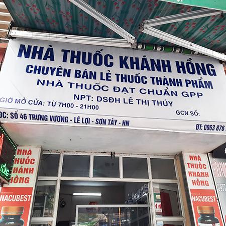 Quầy thuốc Khánh Hồng
