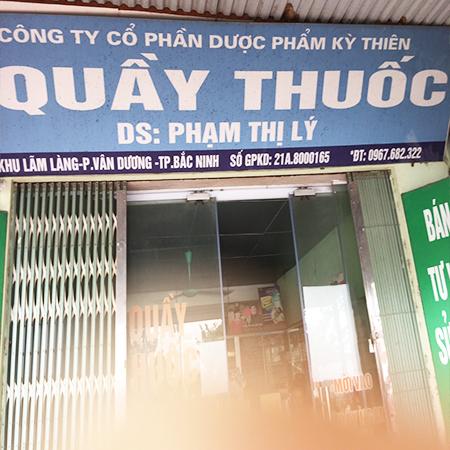 Quầy thuốc Phạm Thị Lý