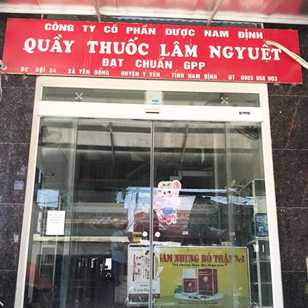 Quầy thuốc Lâm Nguyệt