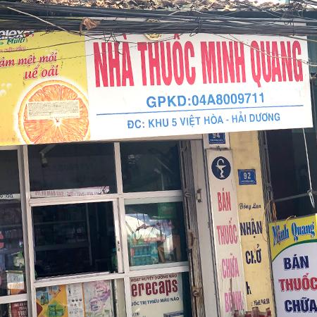 Nhà thuốc Minh Quang