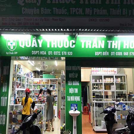Quầy thuốc Trần Thị Hoa
