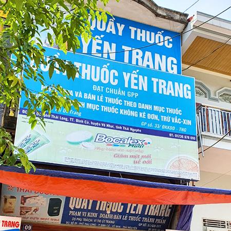 Quầy thuốc Yến Trang