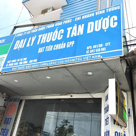 Quầy thuốc Phí Thị Tịnh