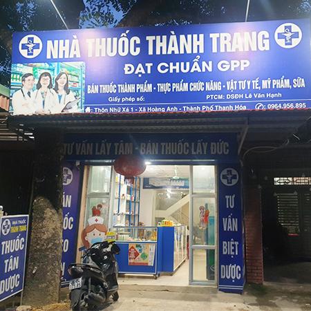 Nhà thuốc Thành Trang