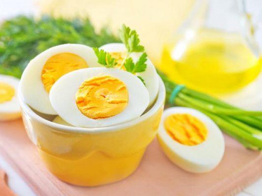 Trứng có nhiều dưỡng chất có lợi cho hệ tiêu hóa