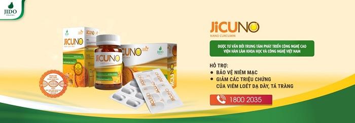 Viên uống Jicuno giúp bảo vệ dạ dày của bạn