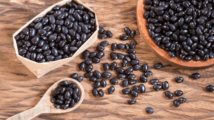 Đỗ đen chống oxi hóa da ngăn ngừa lão hóa cải thiện vòng ngực