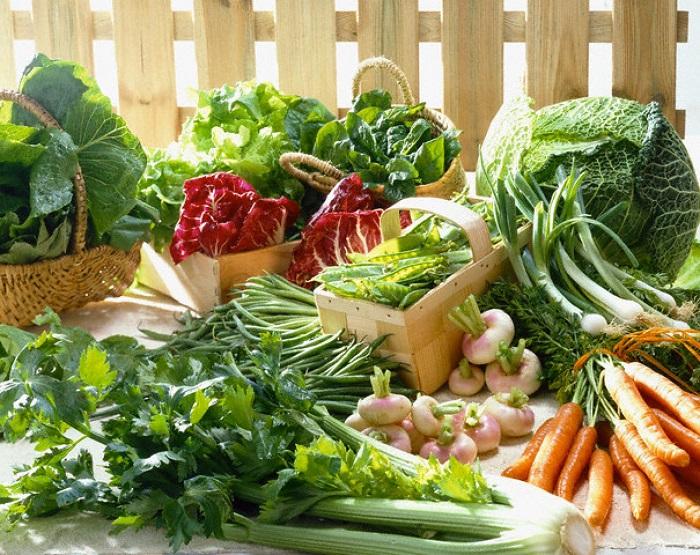 Rau xanh là thực phẩm rất tốt cho sức khỏe người bệnh sau khi mổ