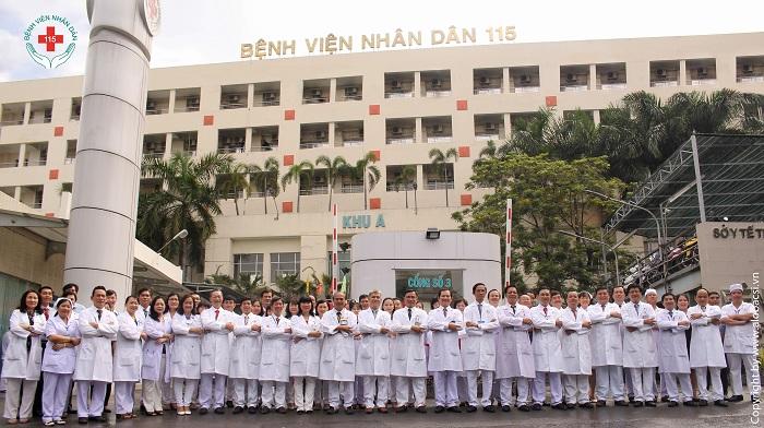Bệnh viện nhân dân 115 có đội ngũ y bác sĩ chuyên môn cao, tận tâm với nghề