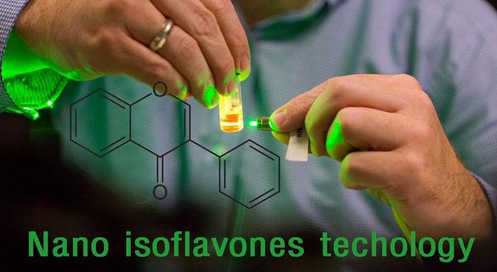 Công nghệ Nano Isoflavone tạo nên sự đột phá lớn, giúp cơ thể hấp thụ Isoflavon gấp nhiều lần bình thường
