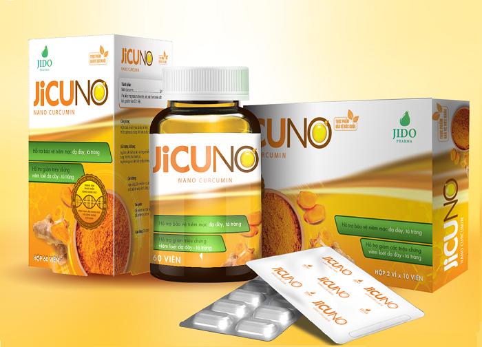 Jicuno là viên uống thực phẩm chức năng bảo vệ niêm mạc dạ dày