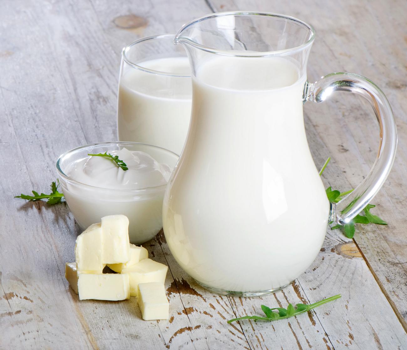 Sữa và các chế phẩm từ sữa được đưa vào danh sách hạn chế đối với người u xơ tử cung